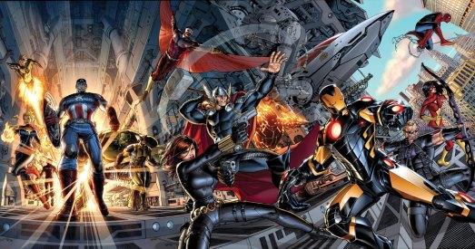 Comics_Avengers_team