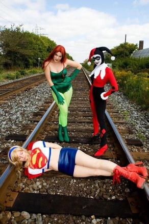 Cosplay_dc_girls