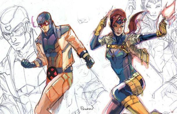 20150905-ComicsSelection_01_Cyclops_JeanGrey_PeterVNguyen